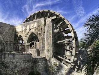 La rueda o Noria de Alcantarilla