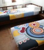 Alojamiento de 3 habitación dobles