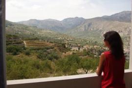Apto. Serrella casa rural en Benimantell (Alicante)
