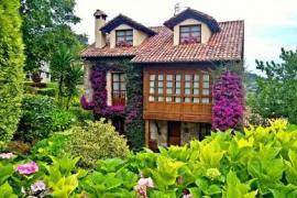 Trisqueles y Buganvillas casa rural en Villaviciosa (Asturias)