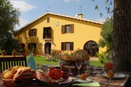 Cal Ruget Biohotel casa rural en Vilobi Del Penedes (Barcelona)
