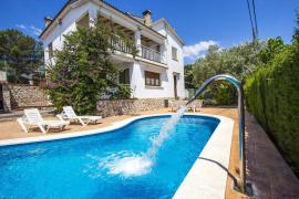 Cal Vives casa rural en Canyelles (Barcelona)