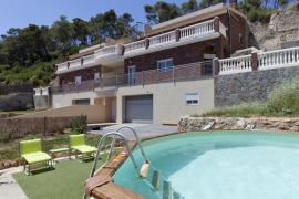 Casa Amanecer casa rural en Cervello (Barcelona)