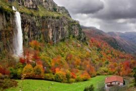 Cabaña de La Cascada casa rural en Soba (Cantabria)
