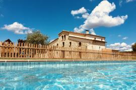 Can Gelats casa rural en Sils (Girona)