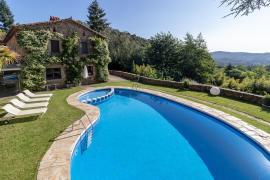 Can Natura casa rural en Arbucies (Girona)