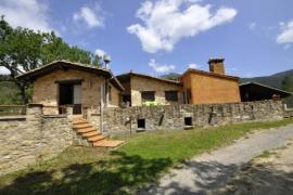 Can Planes casa rural en La Vall De Bianya (Girona)