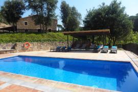 Can Salarichs casa rural en Riudarenes (Girona)