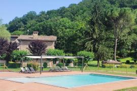 Can Torrotes casa rural en La Vall De Bianya (Girona)