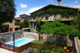Can Travé casa rural en Crespia (Girona)