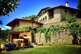 El Llober casa rural en Les Planes D' Hostoles (Girona)