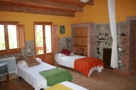 La Vinyota casa rural en Sant Hilari Sacalm (Girona)