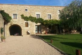 Mas Ametller casa rural en Fontclara (Girona)