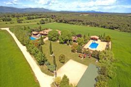 Mas Ca L´Estrada casa rural en Riudarenes (Girona)
