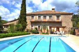 Mas El Molí casa rural en Sant Aniol De Finestres (Girona)