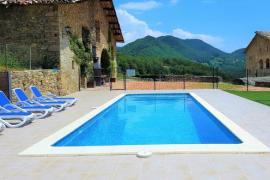Mas Moreta casa rural en Les Llosses (Girona)