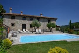 Mas Planella casa rural en Mieres (Girona)