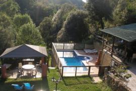 Masia Can Prim casa rural en Les Preses (Girona)