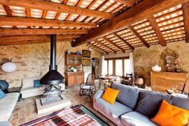Masia Can Sici casa rural en Sant Gregori (Girona)