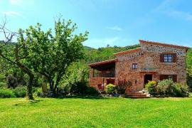 Masia Forn del Vidre casa rural en Sant Marti De Llemena (Girona)