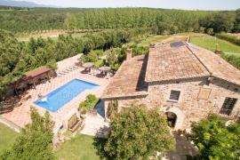 Masia La Belladona casa rural en Sils (Girona)