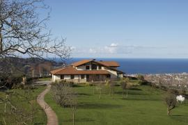 Caserio Izetaerdi casa rural en Zarautz (Guipuzcoa)