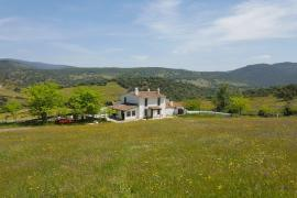 Cortijo Los Bogonales casa rural en Arroyomolinos De Leon (Huelva)