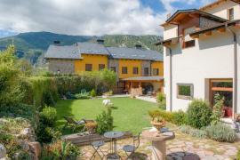 Hotel Plaza casa rural en Castejon De Sos (Huesca)