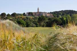 Hospedería Monasterio de les Avellanes casa rural en Os De Balaguer (Lleida)