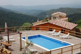 Masia Confós casa rural en Ponts (Lleida)