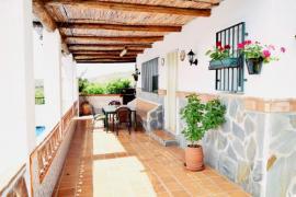 Cortijo Los Naranjos casa rural en Frigiliana (Málaga)