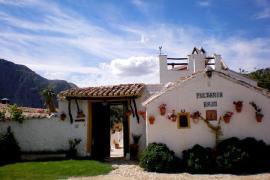 El Cortijo Pulgarín Bajo casa rural en Alfarnatejo (Málaga)