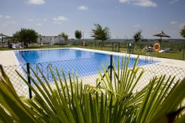 Camping Bardenas casa rural en Villafranca (Navarra)