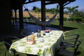 Haritzalotz casa rural en Zurucuain (Navarra)