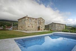 A Casa Da Tulla casa rural en Gomesende (Ourense)