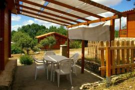 Cabañas del Cortino casa rural en Monleras (Salamanca)