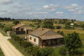 Balcón de Nut I y II casa rural en Losana De Piron (Segovia)