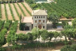 Mas de N´Aubi casa rural en Riudoms (Tarragona)