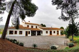 Finca Santa Elena  casa rural en Ontinyent (Valencia)