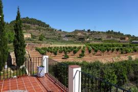 Los Cipreses casa rural en Bolbaite (Valencia)