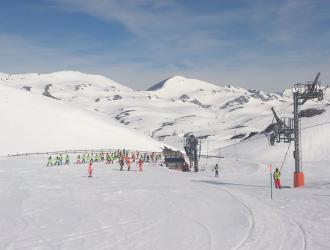 Estación esquí Fuentes de Invierno