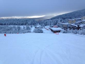 Estación esquí La Pinilla