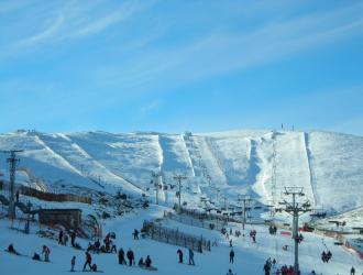 Estación esquí Valdesquí