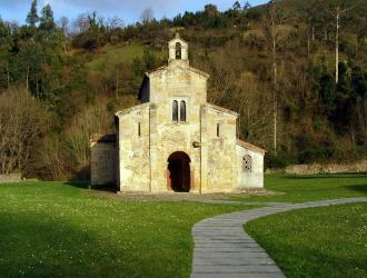 Iglesia de San Salvador de Valdediós,Puelles