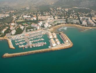 El puerto deportivo de Les Fonts