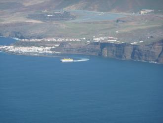 Puerto de las Nieves. El Dedo de Dios