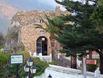 Mirador del compás y Ermita Virgen de la Peña