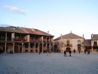Calle Real y Plaza Mayor