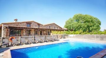 Ca L´Estrada casa rural en Riudarenes (Girona)