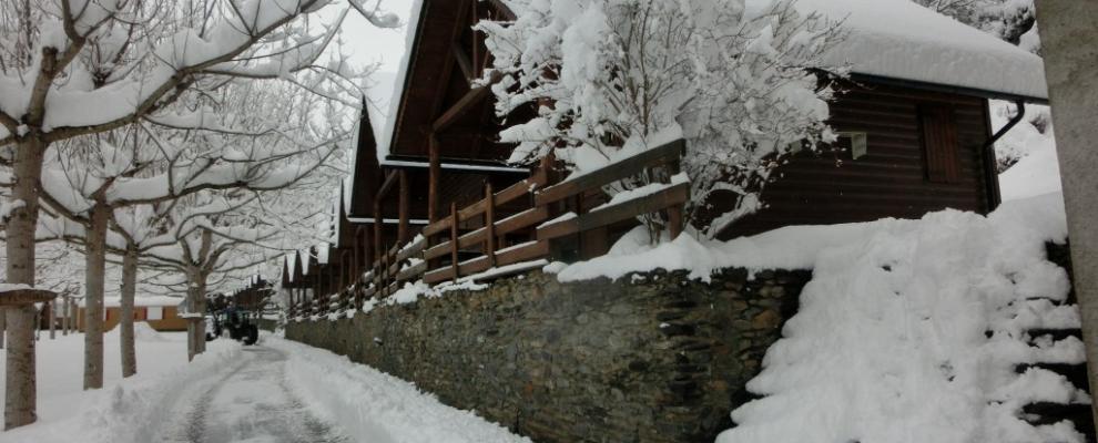 Casas rurales cerca de la estacion esqui pla de negua - Casas rurales en la nieve ...